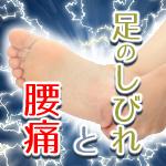 足のしびれと腰痛