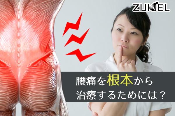 腰痛の根本治療のために